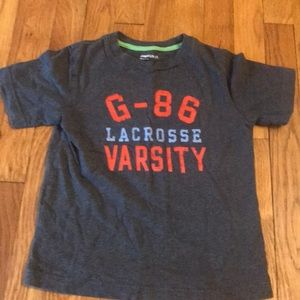 Gap Kids boys lacrosse shirt -XS
